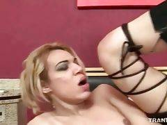 Hot Looking Tranny Gets Deeply Screwed 3