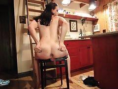 Horny Jenna Creed Strokes Her Cock