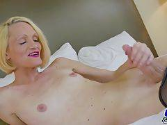 Brooke Zanell Strokes Her Huge Dick